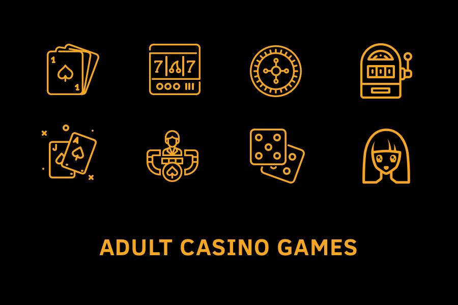 Adult casino games
