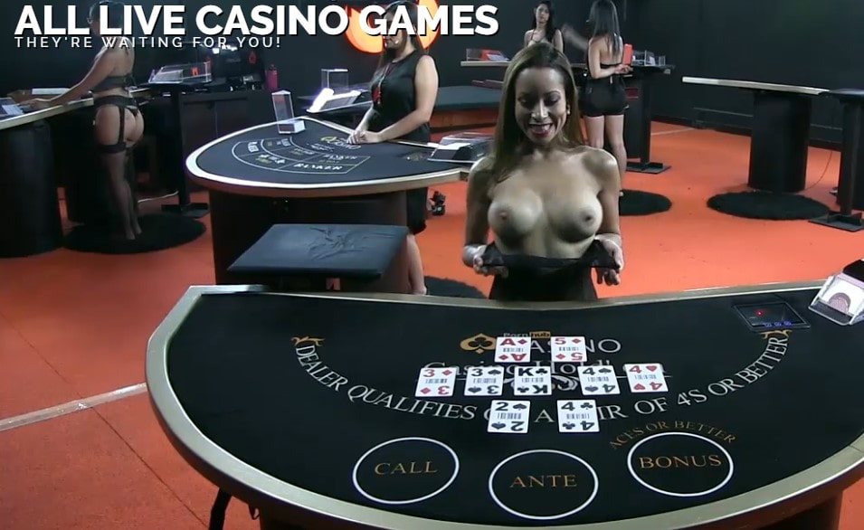 naked live dealer casino