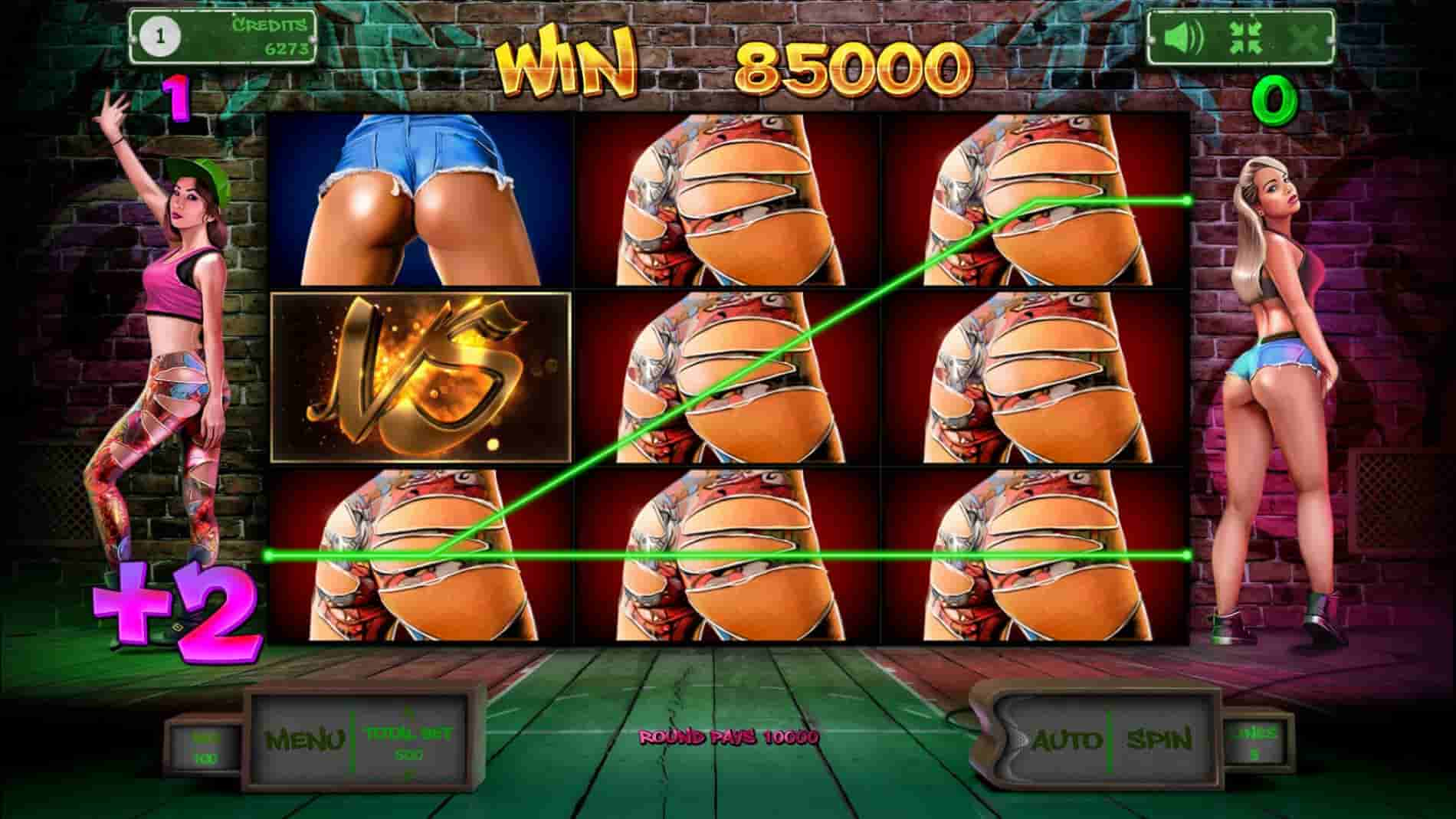 twerk slot machine